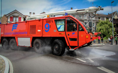 Ziel des Feuerwehrvereins Romanshorn